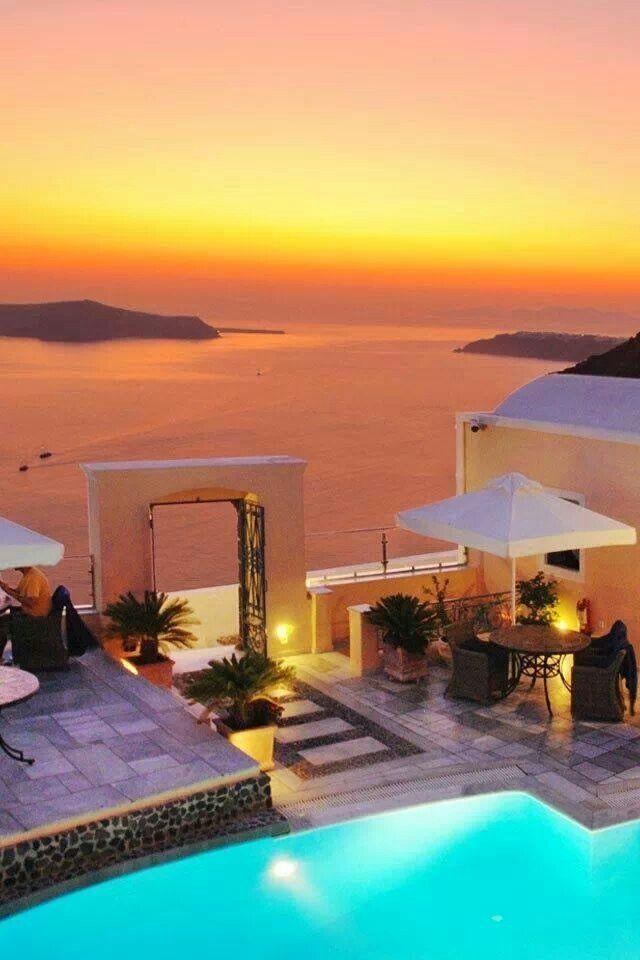 Aaaaah, Santorini...