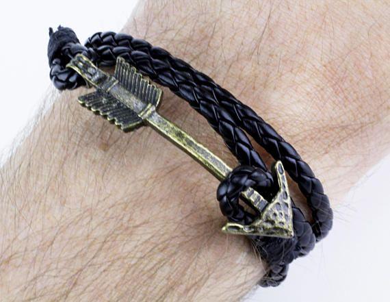 Mens Arrow Bracelet Men Arrow Bracelet Arrow Bracelet Men Arrow