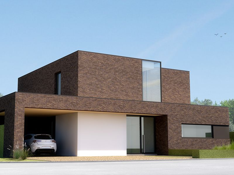 Moderne woningen woningbouw taelman architektura for Moderne laagbouw woningen