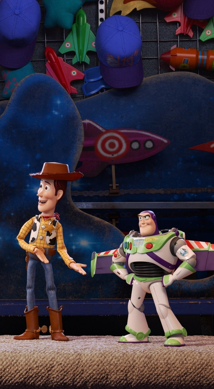 Toy Story 4 Discovered By Sanju On We Heart It Disney Wallpaper Cute Disney Wallpaper Toy Story
