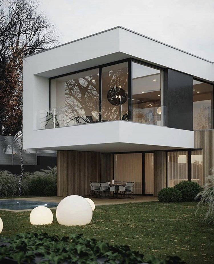 Pin By Adrian On Minimal Architecture In 2020 House Exterior Contemporary House Design Modern House Design