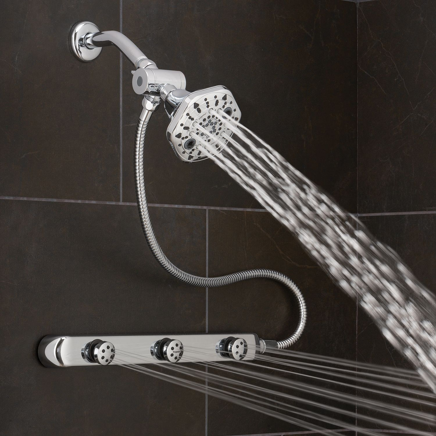 Bodybar Powerselect With Images Shower Heads Stainless