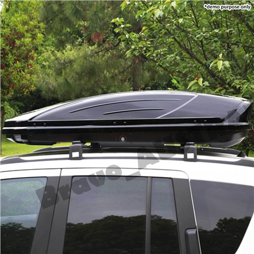 450l Car Roof Storage Pod Vehicle Rooftop Luggage Rack Box Carrier