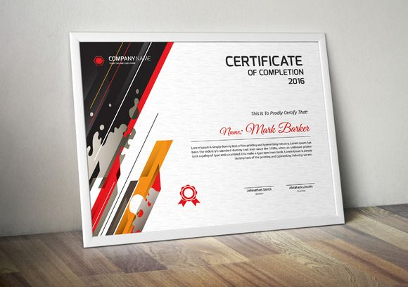 Certificate by Todorovic Designs on @creativemarket Templates