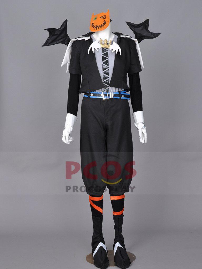 Kingdom Hearts Halloween Town Sora Cosplay Costumes Halloween's Day Version  mp001058