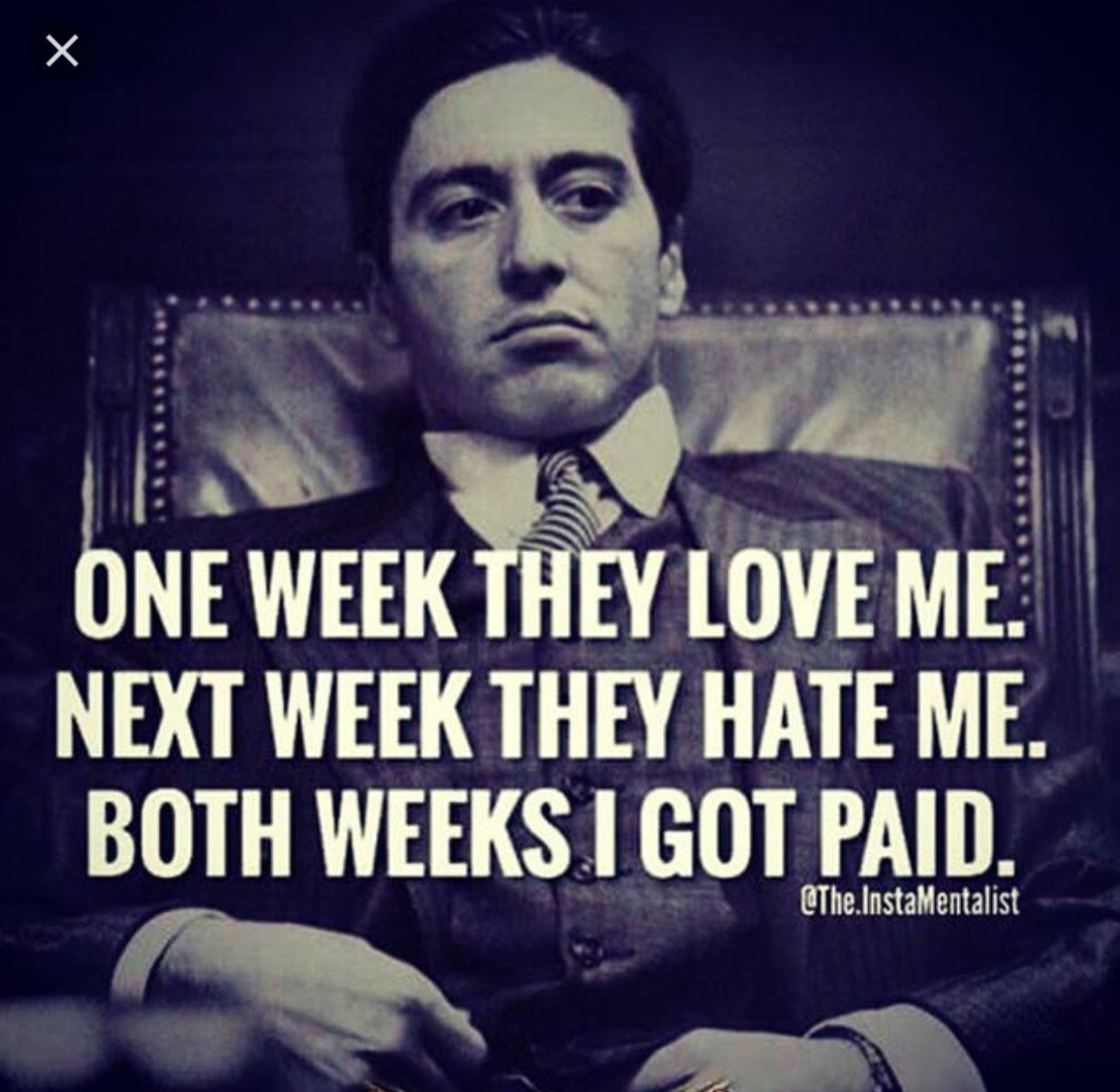 Pin By Chan Hardley On Realist Quotes Godfather Quotes Gangster Quotes Badass Quotes