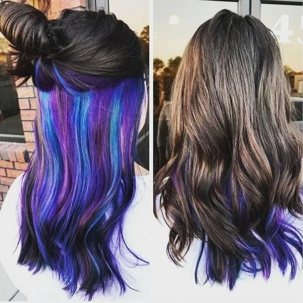 Crazy Hair Color Ideas For Brunettes