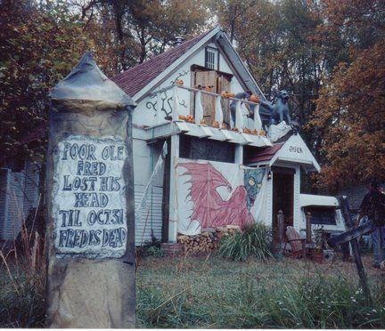 How to Stage a Haunted House  Building Moxie - halloween decorations haunted house