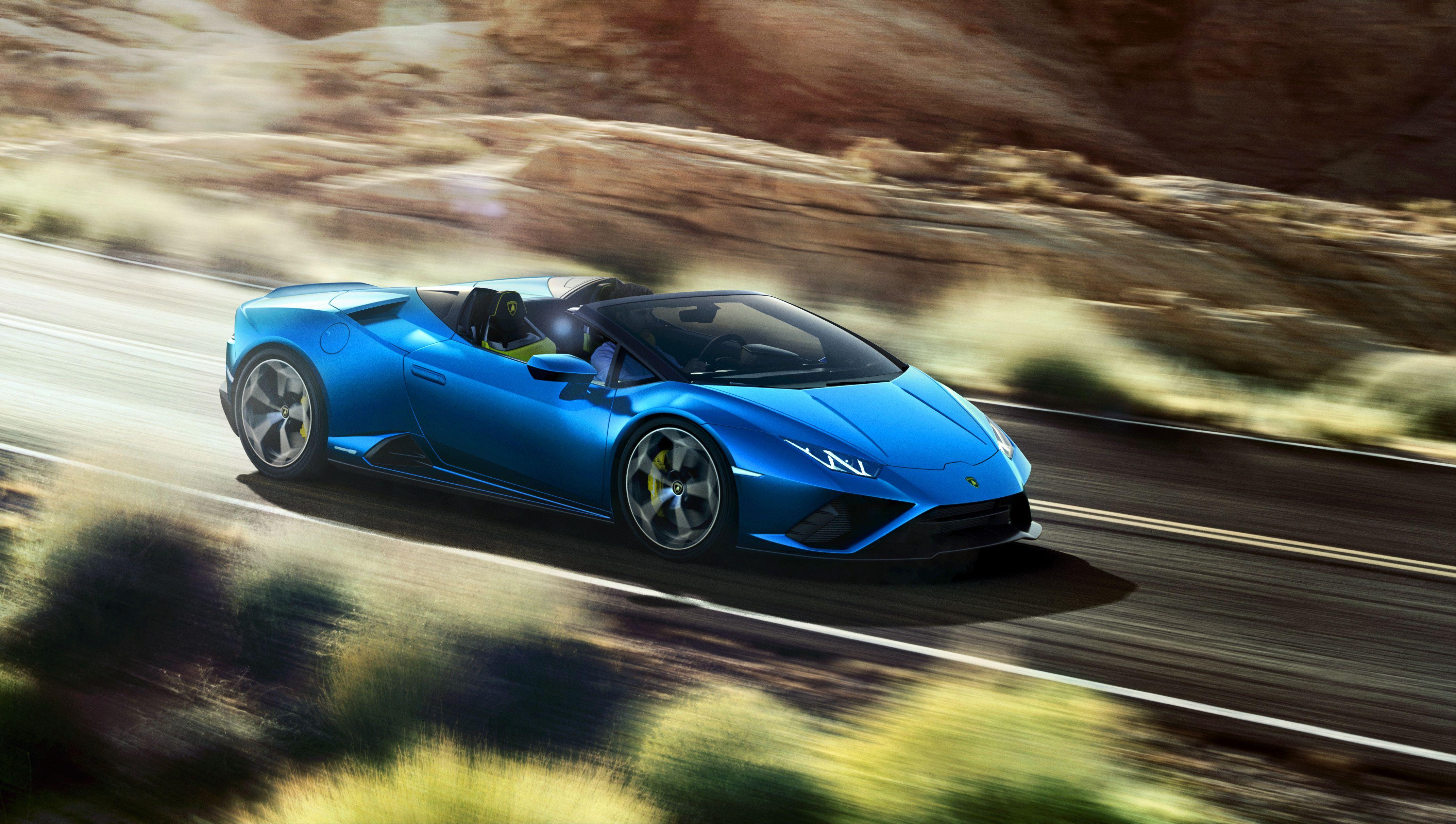 Lamborghini Huracan Evo Rwd Spyder Hits The Market With Unique Looks Top Speed In 2020 Lamborghini Huracan Rear Wheel Drive Lamborghini