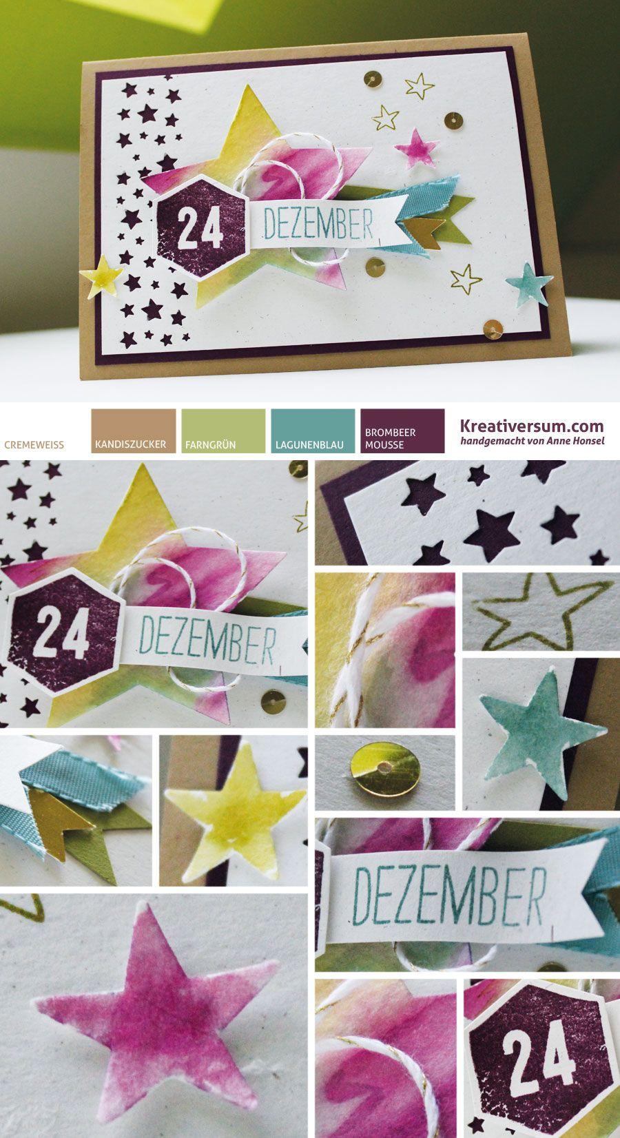 Kreativersum, Stampin\' Up!, SU, Karte, Weihnachten, Winter, Dezember ...