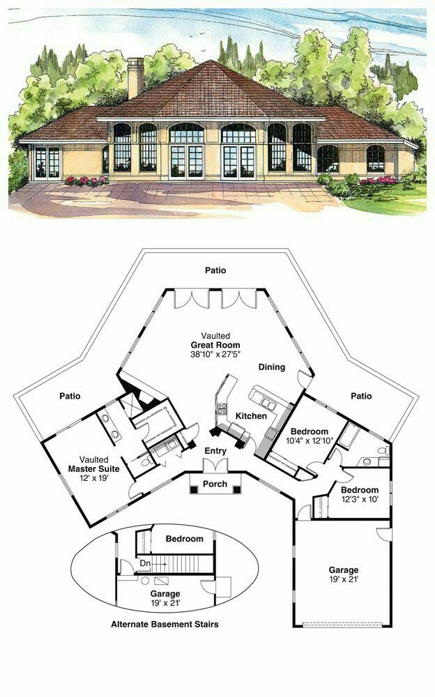 I Love Every Thing About This Best House Plans House Blueprints Country House Plans