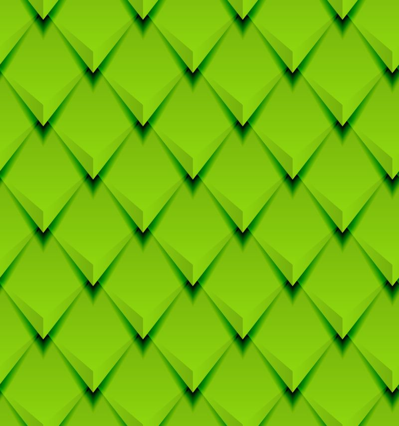 Green 3D Diamond Background Vector | Graphic Backgrounds