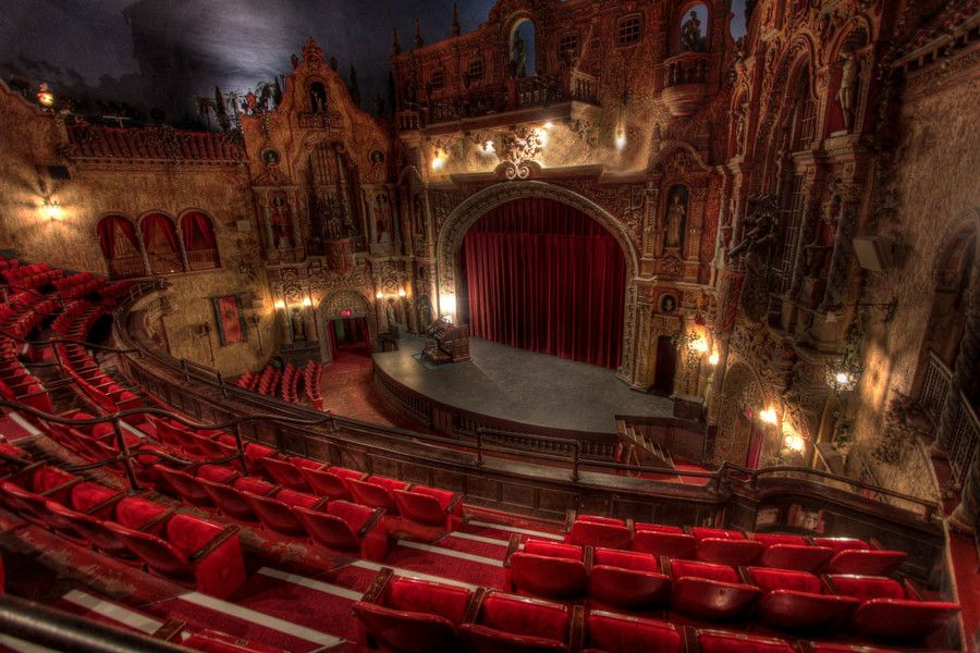 Tampa Theater Theaters of Our Lives Pinterest Wanderlust