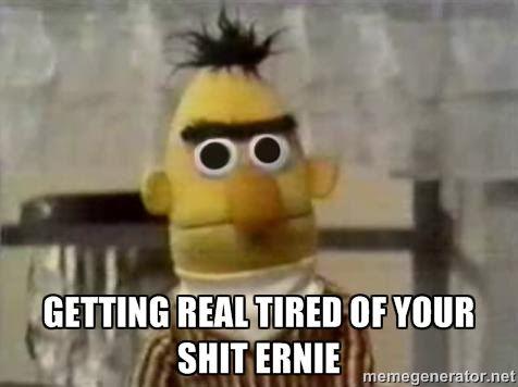 Bert Bathroom Stall bert & ernie memes | °•.~sesame street~.•° | pinterest | memes