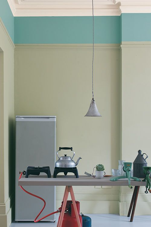 Best Kitchen Painted In Farrow Ball Mizzle Dix Blue 400 x 300