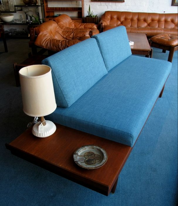 Antique Couches Melbourne: Vintage Teak Daybed - Model No. 143