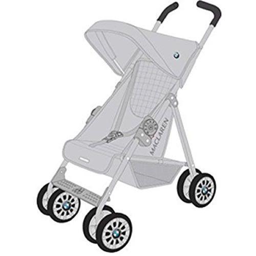 Maclaren Junior BMW Toy Pushchair Silver