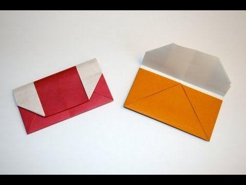 origami pochette traditionnelle origami origami origami envelope et paper crafts. Black Bedroom Furniture Sets. Home Design Ideas