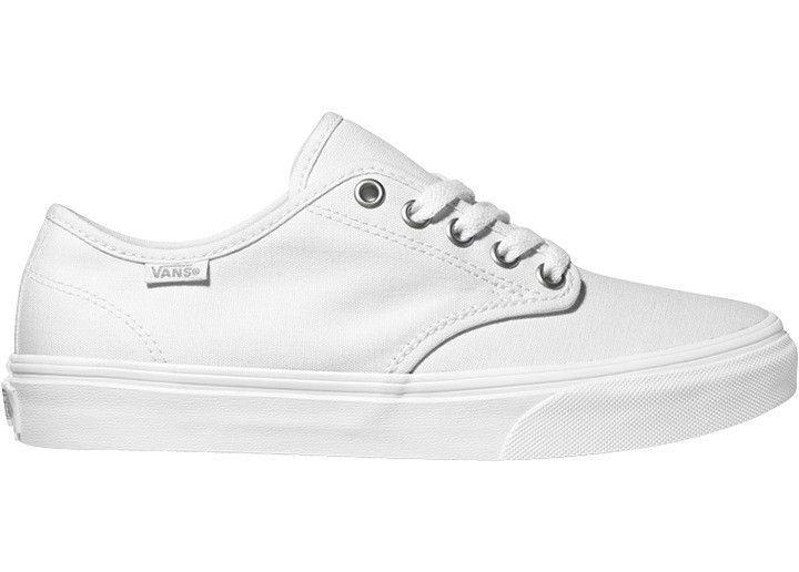 Vans Camden Stripe, Women's Low-Top Sneakers White (canvas/white/white
