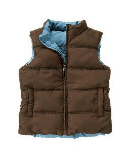 Reversible Puffer Vest by Crazy 8