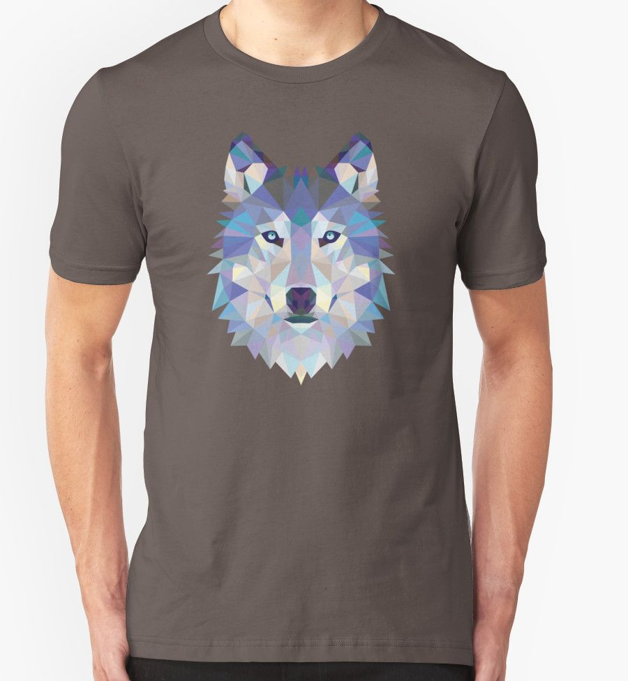 Game Of Thrones Polygonal Dire Wolf | RedBubble Unisex Dark Grey TShirt | All Sizes Available for Men and Women @redbubble