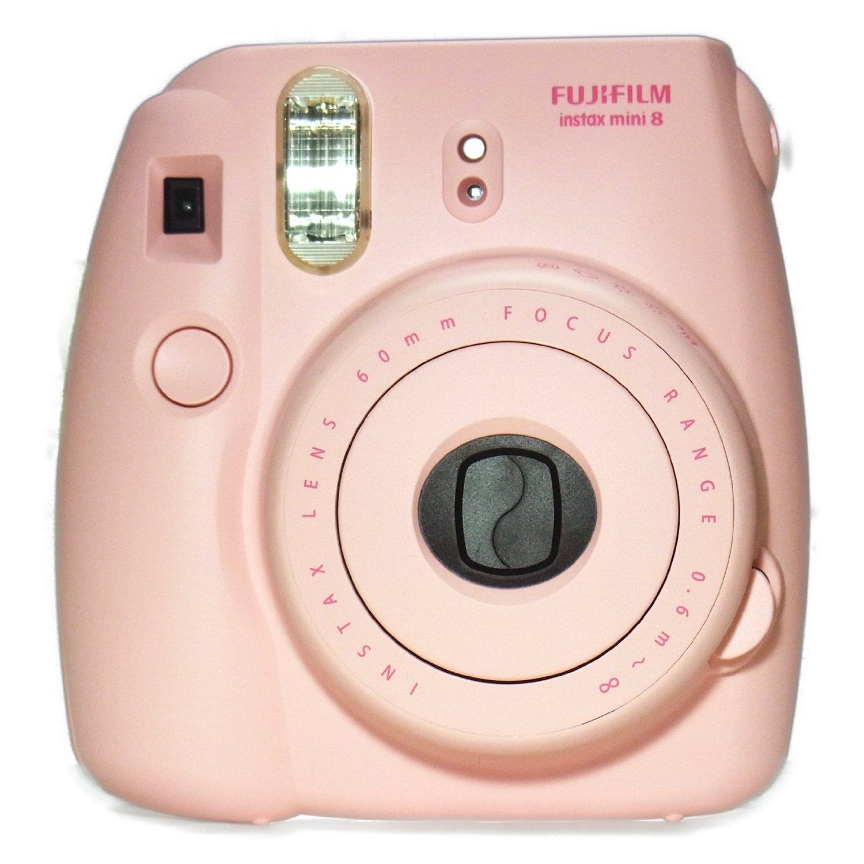 Amazon Com New Model Fuji Instax 8 Color Pink Fujifilm Instax