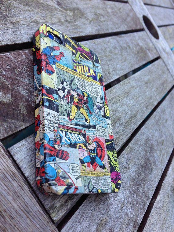 Comic Inspired Phone Case by BlueeyedMagic on Etsy Phone
