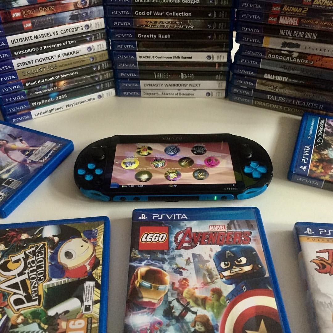 The best portable console ever :D #psvita #playstation