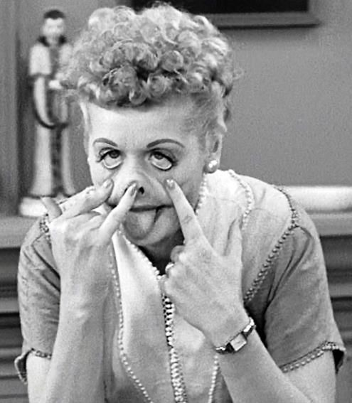 Working The Brown Noser Memorable Quotes: I Love Lucy, Love Lucy
