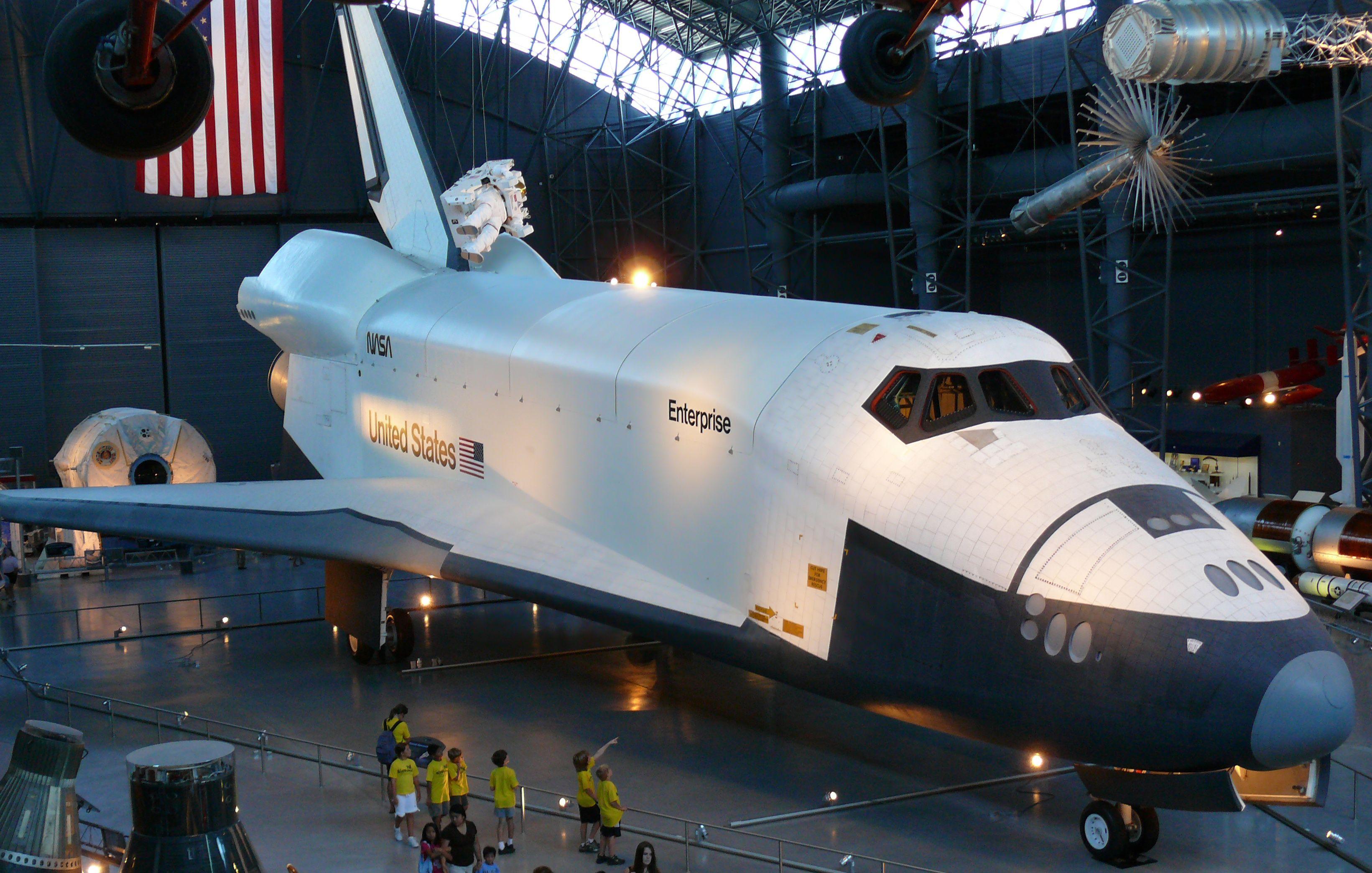 USS Enterprise space shuttle