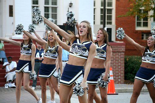 Georgia Southern Cheerleading 3
