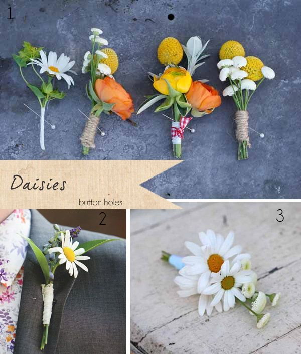 Daisies Wedding Flowers ~ Get To Know Your Wedding Flowers | Flower ...