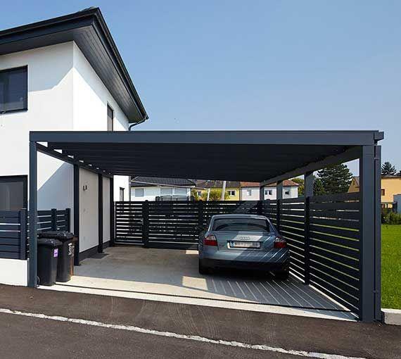 Zaune Aus Aluminium Und Edelstahl Hohe Qualitat Modernstes Design Aluzaune Kollarits Hauswand Mediterrane Hauser Carport Holz