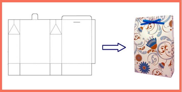 Бумажные пакеты своими руками (простой способ) 42