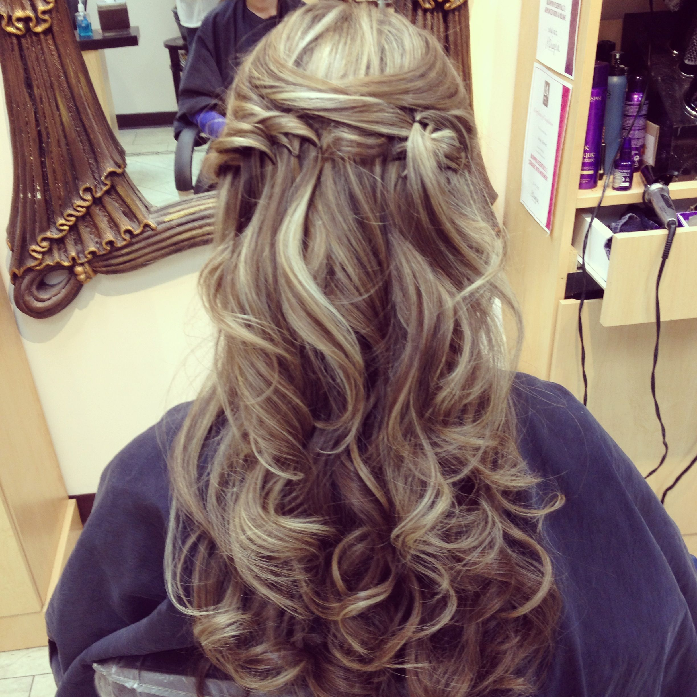 Bridal Hair Hairbyashleyspadano Wedding Hair Highlights