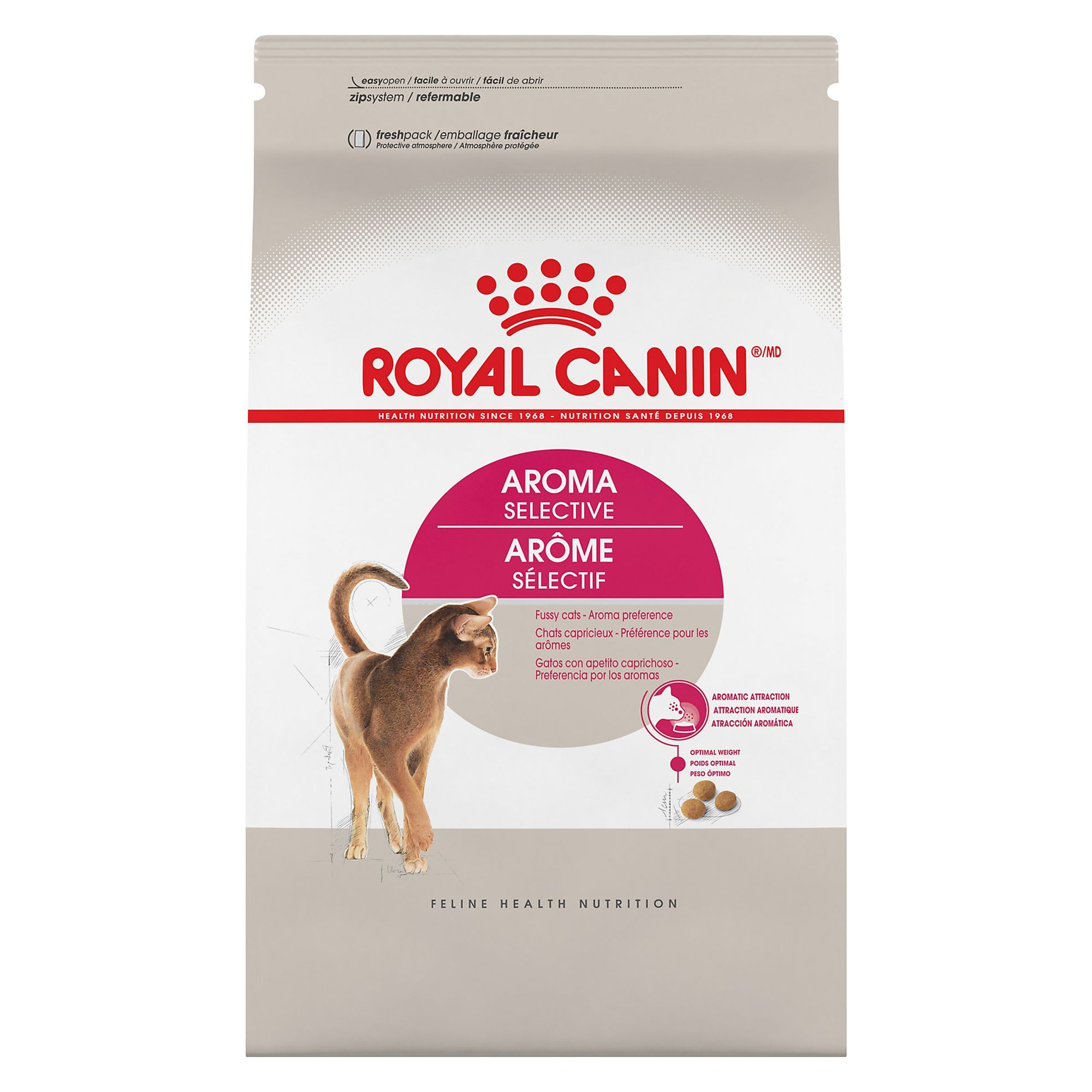 Royal Canin Feline Health Nutrition Selective 31 Aromatic Attraction Cat Food Cat Food Reviews Feline Health Dry Cat Food