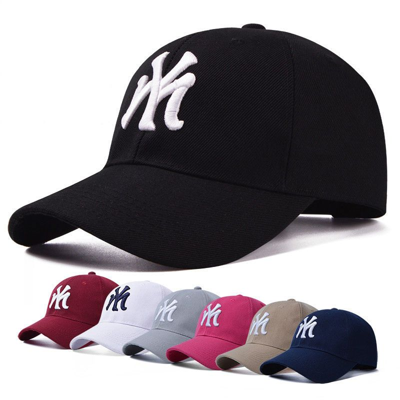9b3a66a4792 New Mens Womens Baseball Cap Hip-Hop Hat Adjustable NY Snapback Sport  Unisex  Unbranded