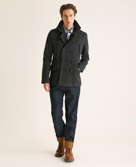 Peacoat Style Jacket 4q9t7C