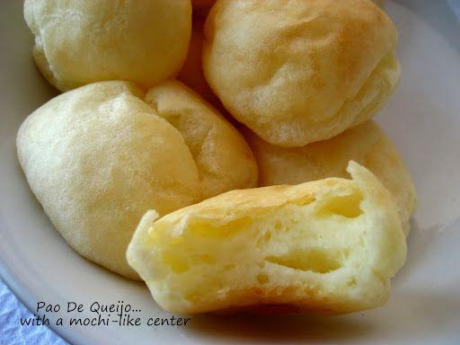 Brazilian Pao De Queijo Cheese Bread Rolls Food Cheese Bread