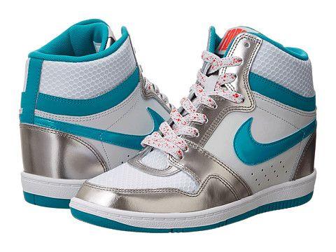 cheaper 0f4e2 d7ac8 Nike Force Sky High Sneaker Wedge Back in the day before I had kids I used  to be a sneaker freak