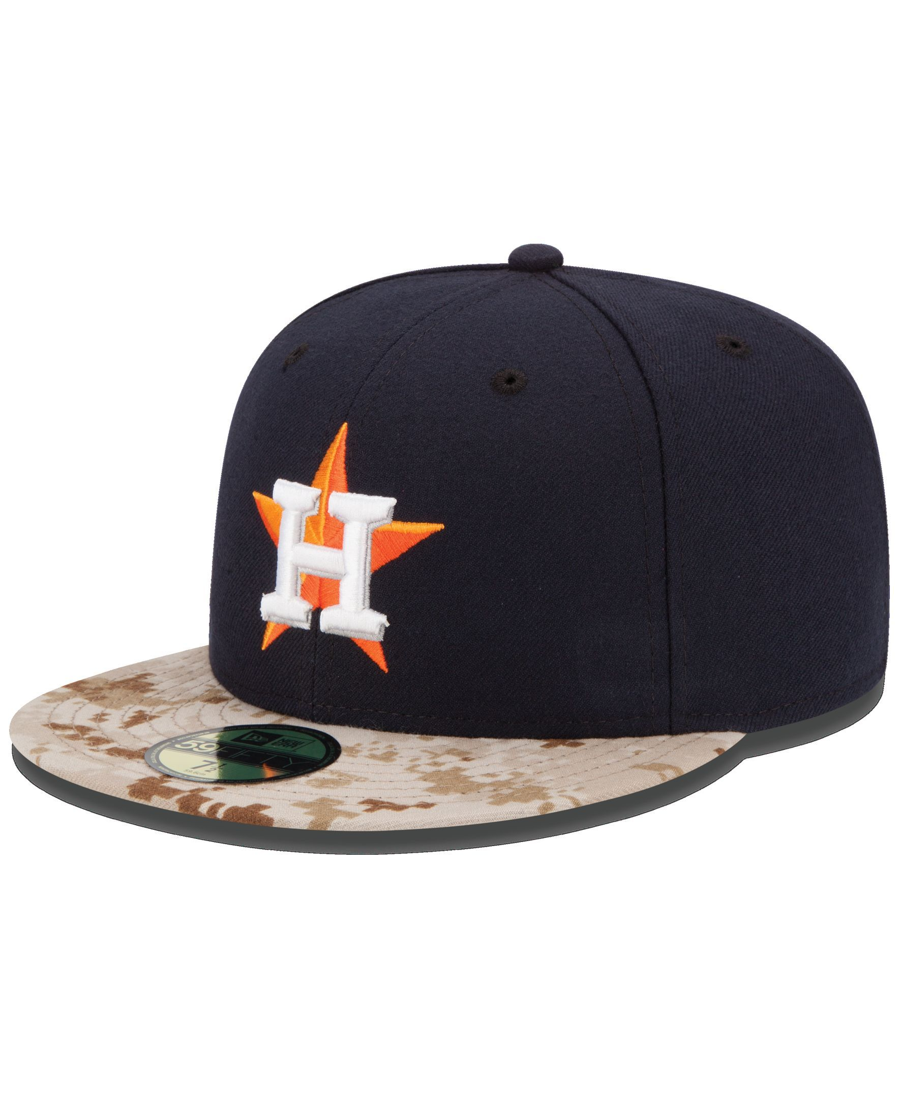 New Era Houston Astros Memorial Day Stars and Stripes 59FIFTY Cap