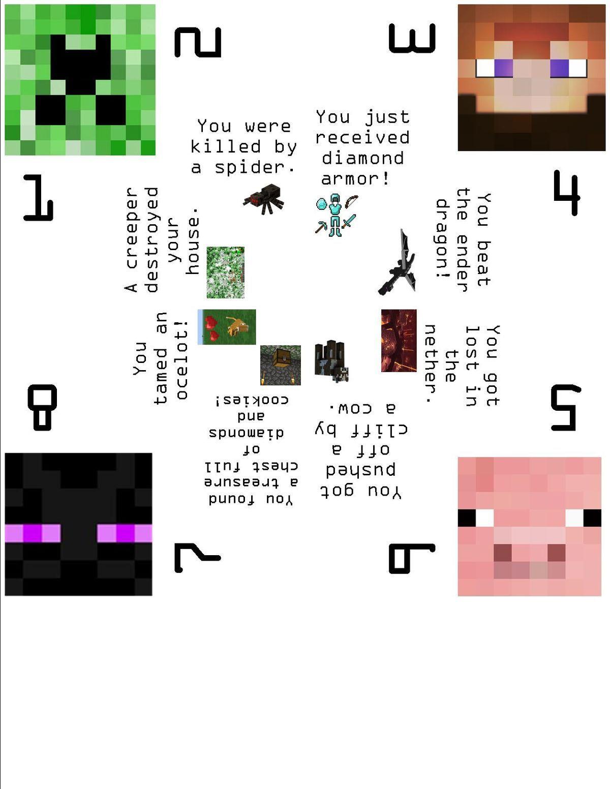 Pin By Samantha Hua On Minecraft