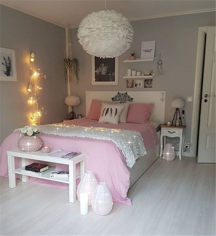 Creative Bedrooms That Any Teenager Will Love: 35 Best DIY Pink Living Room Decor Ideas For Teens Girls