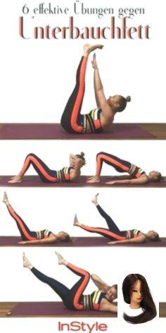 #Bauch #bringen #Diese #Fitnessübungen #Flacher #for Health quotes #richtig #sechs #viel Flacher Bau...