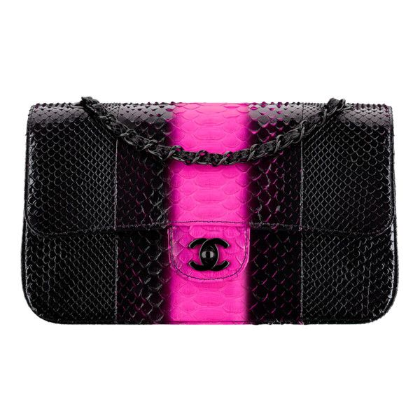 Python Black Metal Liked On Polyvore Featuring Bags Handbags Clutches Handbag Purse