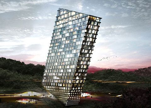 Quoted from: MAD architects invites 10 international firms to design 'huaxi city centre', guiyang, in south western china
