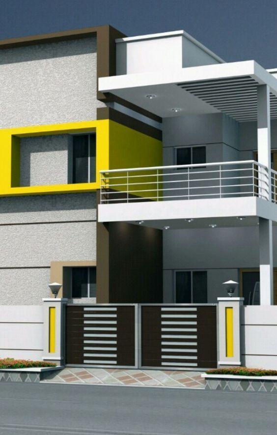 Colores para pintar fachadas de casas | Pinterest | Colores para ...