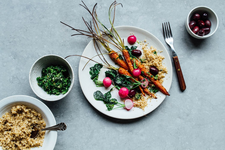 Roasted Roots / Belén Vazquez Amaro | Food | Pinterest | Pesto, Kale ...