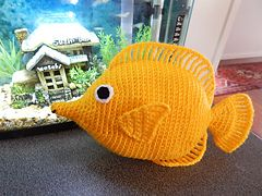 Ravelry: Yellow Tang pattern by pawpaw 5