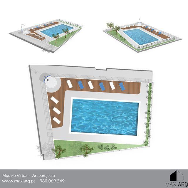 Modelos Virtuais Tridimensionais  Habitação Complexos Desportivos Mobiliário, ... www.maxiarq.pt